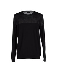 Cnc Costume National Homme Sweaters Black