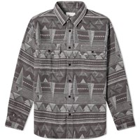 Penfield Leeson Nordic Print Shirt Grey