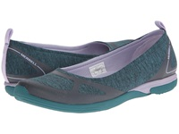 Merrell Ceylon Ballet Teal Lilac Women's Slip On Shoes Beige