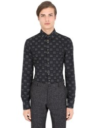 Trussardi Check Cotton Shirt