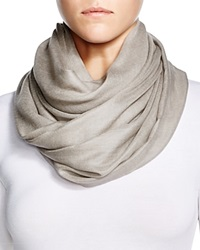Fraas Cashmere Solid Wrap Scarf Taupe