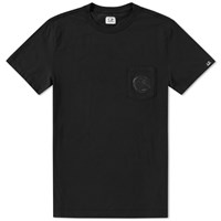 C.P. Company Pocket Lens Tee Black