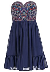 Morgan Rodeo Cocktail Dress Party Dress Bleu D'orient Blue