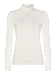 Part Two Roll Neck Essential T Shirt White