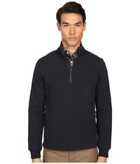 Jack Spade Midweight Bike Jersey Heather Navy Men's Sweater