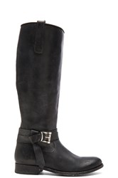 Frye Melissa Knotted Tall Boot Black