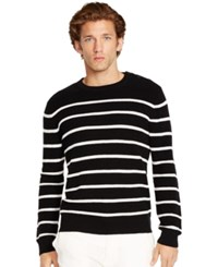 Polo Ralph Lauren Striped Sweater Black White