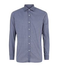 Jacob Cohen Paisley Print Shirt Male Blue