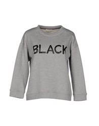 Pinko Topwear Sweatshirts Women Light Grey