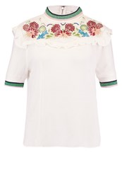 Paul And Joe Sister Blouse Ecru Off White