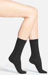 Women's Smartwool 'Cable Ii' Crew Socks Black