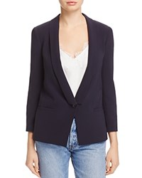 Dylan Gray Shawl Lapel Blazer 100 Exclusive Navy