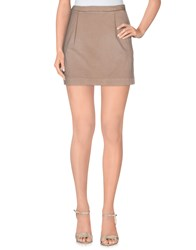 Kristina Ti Skirts Mini Skirts Women Dove Grey