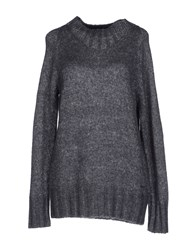 Armani Jeans Knitwear Turtlenecks Women Grey