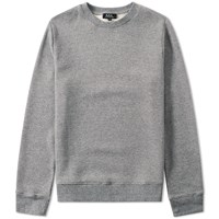 A.P.C. Theo Crew Sweat Grey