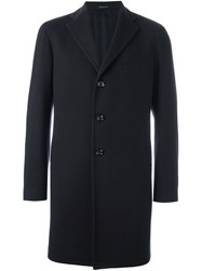 Tagliatore Single Breasted Coat Blue