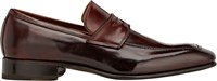 Harris Apron Toe Penny Loafers Brown