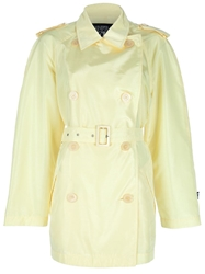Gianfranco Ferre Vintage Trench Coat Yellow And Orange