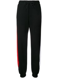 Msgm 'Arrow' Track Pants Black