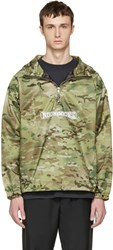 Noon Goons Green Camo Beach Breaker Jacket