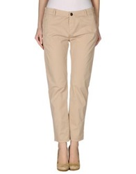 Twin Set Jeans Casual Pants Sand