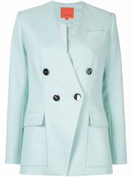 Manning Cartell Double Breasted Blazer Blue