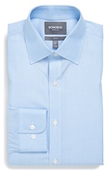 Bonobos Slim Fit Wrinkle Free End On End Dress Shirt Online Only Navy