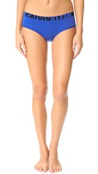 Calvin Klein Underwear Seamless Logo Hipsters Amplified Blue
