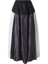 Vivienne Westwood Red Label Panelled Full Skirt Black