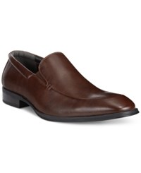 Alfani Charles Moc Slip On Shoes Only At Macy's Men's Shoes Brown