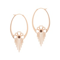 Sarah Ho Sho Daisychain Hoops Rose Gold Gold Silver
