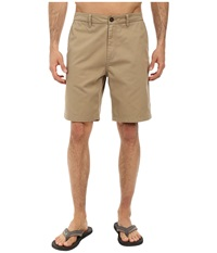 O'neill Anchor Walkshorts Khaki Men's Shorts