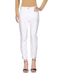 Daniela Dalla Valle Elisa Cavaletti Casual Pants White