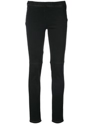 Sonia Rykiel Stretch Denim Legging Black