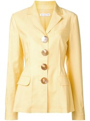 Rejina Pyo Shell Button Blazer Yellow