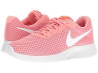 Nike Tanjun Lava Glow Total Crimson White Women's Running Shoes Pink