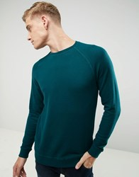 Esprit Soft Raglan Sweatshirt Green 375