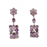 Isabel Englebert Empress Amethyst Earrings