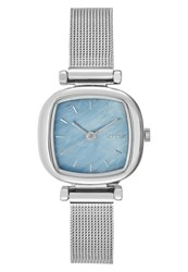 Komono Moneypenny Royale Watch Silvercoloured Light Blue