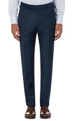 Ermenegildo Zegna Men's Wool Slim Fit Trousers Navy