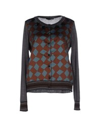 .Tessa Knitwear Cardigans Women Brown