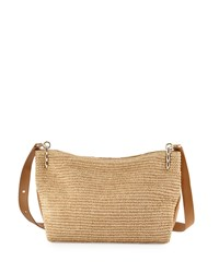 Elaine Turner Designs Elaine Turner Bianca Raffia Crossbody Bag Natural