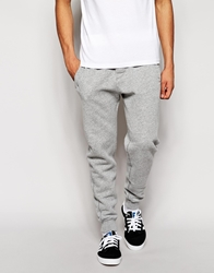 Abercrombie And Fitch Sweatpants With Contrast Waistband Grey