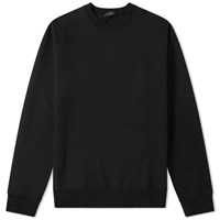 Sophnet. Tech Knit Side Zip Crew Black
