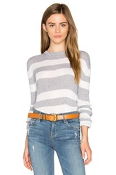 Helfrich Lily Crew Neck Sweater Gray