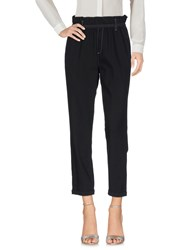 Maison Espin Casual Pants Black