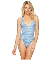 Rip Curl High Tide One Piece Light Blue Women's Swimsuits One Piece