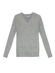 Tomas Maier V Neck Cashmere Sweater