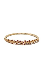 Annoushka 18Kt Yellow Gold Hidden Reef Sapphire Bangle 60