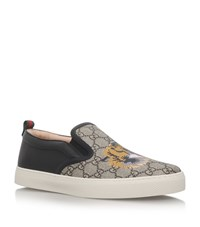 Gucci Dublin Tiger Skater Shoes Male Beige